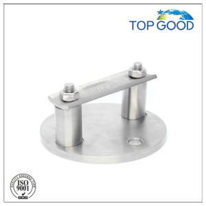 Stainless Steel Handrail Round with Saddle Plate Wall Mount Bracket (24140) pictures & photos