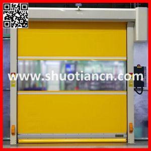 Automatic PVC Fast Roller Door, Fast Rolling Door (ST-001) pictures & photos