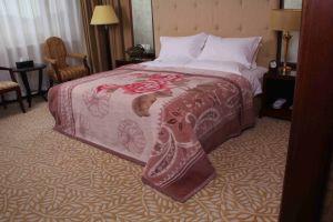 Raschel Mink Wool Blanket (MQ-RWB005) pictures & photos