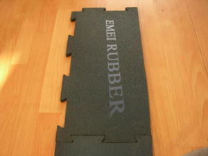 Puzzle Rubber Tile for Gym pictures & photos