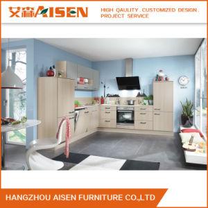 Custom Kitchen Cupboard Melamine Kitchen Cabinet pictures & photos