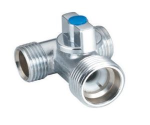 Nickel Plated Tee Ball Valve with High Quality (BX-515)