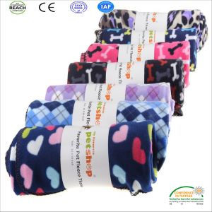 Warm Thickening Paw Design Soft Pet Bed Blanket pictures & photos