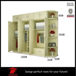 mdf cheap storage walk in cloth wardrobe closet designs