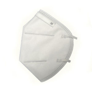Anti-Emrs Particulate Flat Fold Respirator Protective Mask pictures & photos