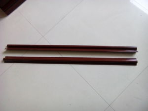 Cable PVC Riser Guard in Brown and Black pictures & photos