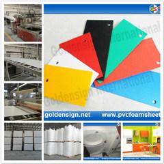 Hot PVC Foam Board (Width: 0.915m-2.05m) pictures & photos