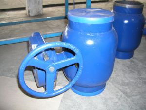 Welded Ball Valve with Gear Box pictures & photos