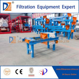 Manually Recessed Plate Filter Press 320 Series for Food Oil Filtration pictures & photos