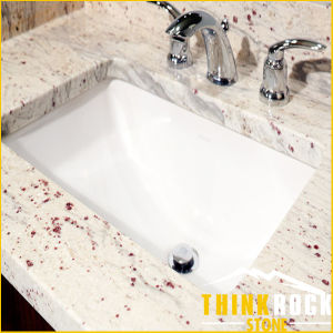 River/ Oriental White Granite Tile for The Flooring & Walling& Countertop &Skirting & Facades