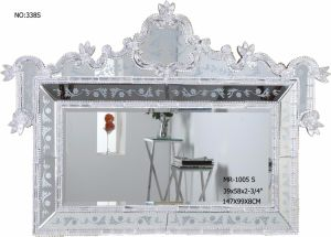 Rectangle Shape of Crystal Wall Mirror pictures & photos