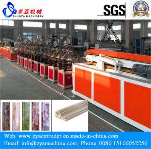 PVC Artificial Decorative Marble Profile Extrusion Machine pictures & photos