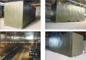 Mobile PU Panel Kitchen Container (shs-fp-army003) pictures & photos