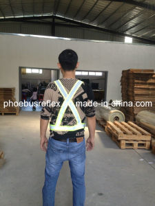 Reflective Safety Shoulder Belt En13356 Standard pictures & photos