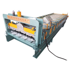 Steel Tile Roll Forming Machinery pictures & photos