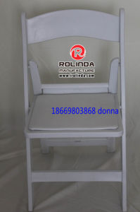 Event Wedding Resin Plastic Folding Chair pictures & photos