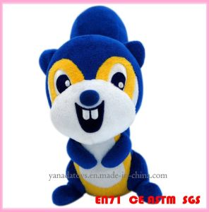 2015 New Cute Plush Soft Stuffed Squirrel Animal Toy