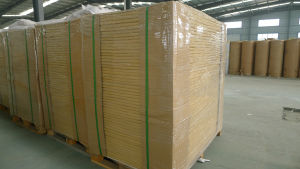 Packing Paper / Wood Pulp125g-250g White Top Testliner Paper Board in Sheet pictures & photos