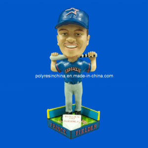 OEM Polyresin Wobble Bobble Head Player pictures & photos