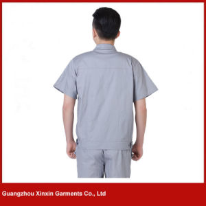 Custom Made Short Sleeve Working Garments for Summer (W212) pictures & photos