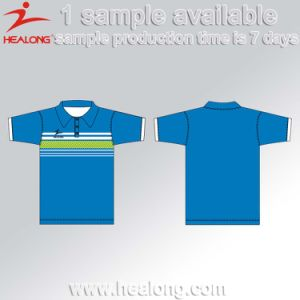 Factory Price with Good Design Digital Printing Sports Polo Shirt pictures & photos