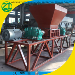 Shredder for Rubber Powder Waste/Plastic/Rubber/Tire//Kitchen Garbage/Wood/Solid Waste pictures & photos