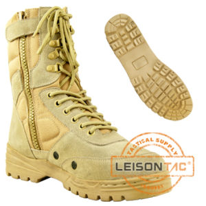 Leather or Cordura Military Desert Army Boots pictures & photos