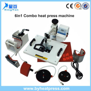 High Quality 6in1 Combo Heat Press Machine for Sale pictures & photos