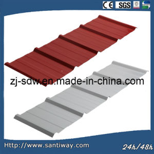 Color Coated Metal Roofing Profiles pictures & photos