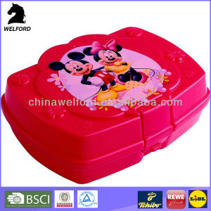 New Custom High Quality Children′s Bento Lunch Box pictures & photos