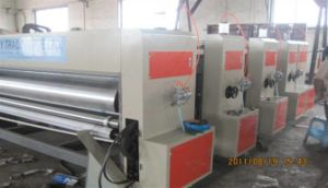 Automatic Flexo Printing Slotting Die-Cutting Machine pictures & photos