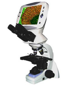 Med-L-DMS-653 Compound Digital LCD Biological Microscope pictures & photos