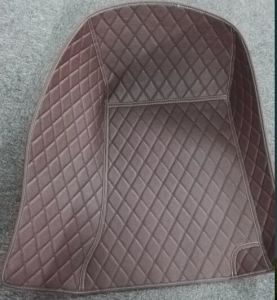 Leatherette Car Mat 3D with Diamond Embroidery pictures & photos