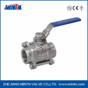 Manual Three-PCS Ball Valve Thread Ends pictures & photos