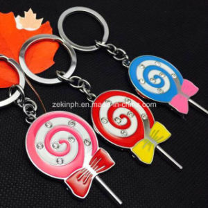 Promotional Cute Candy Bar Shape Key Ring pictures & photos