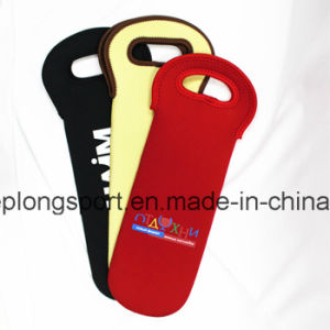 Fashionable and Custom Neoprene Wine Bottle Holder for Picnic, Neoprene Wine Bottle Cooler for Picnic pictures & photos