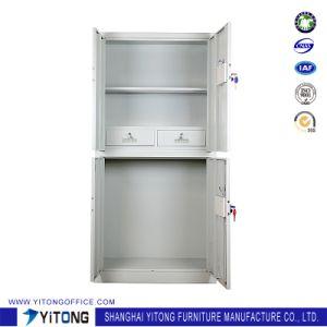 4-Door 2-Drawer Password Ark Metal Storage Cabinet / Office Use Steel Locker pictures & photos