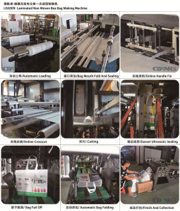 Bottom Gusset Non Woven Box Bag Making Machine pictures & photos