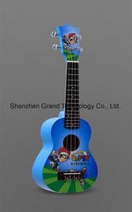 """4 String Ukelele Small Size Hawaii Guitar 23"""" Ukulele (UK-214A) pictures & photos"""