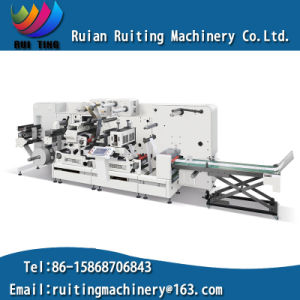 Rtpl-330/420/520z Flexographic Printing Machine with Intermittent Rotary Die Cut pictures & photos