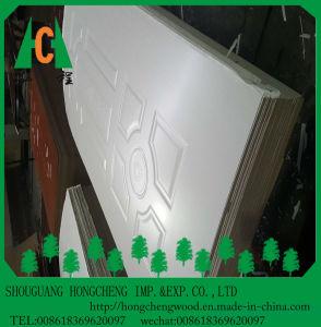 HDF Molded Melamine Door Skin pictures & photos