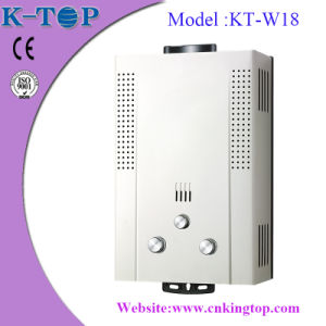 Natural Gas Water Heater, Metallic Color with LCD Displayer