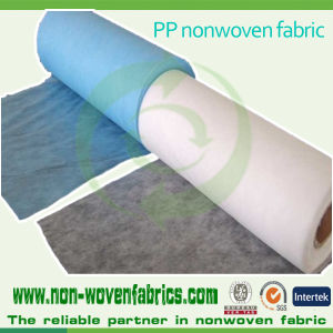 Hygiene Used PP Spunbond Nonwoven Fabric pictures & photos