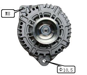 12V 130A Alternator for Hitachi Nissan Lester 11165 Lr1130703 pictures & photos