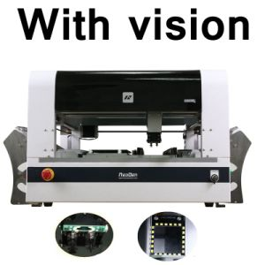 Vision System SMT Machine, Neoden4 Chip Mounter pictures & photos