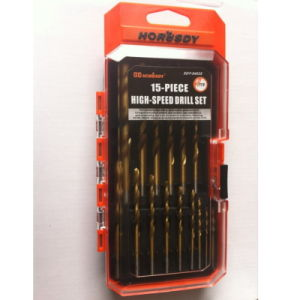 15PCS High-Speed Drill Set Tools Set pictures & photos
