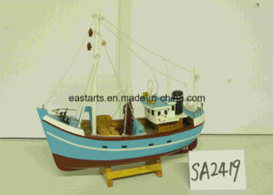 Wooden Model Table Decoration Baby Toys Ship Model