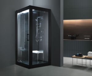 Classical Black Color Computer Control Rectangle Shape Steamroom (M-8283) pictures & photos