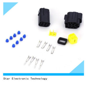 Waterproof Auto Car Electrical Wire Cable Male and Female 4 Pin Way Connector Plug pictures & photos