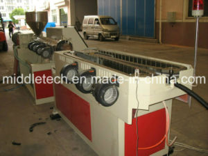 Plastic PVC/PE/PP Single Wall Corrugated/Corrugation Pipe Tube Extrusion Production Line pictures & photos